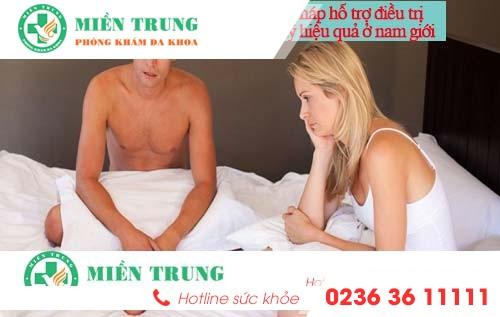 Phương pháp hỗ trợ điều trị yếu sinh lý hiệu quả ở nam giới